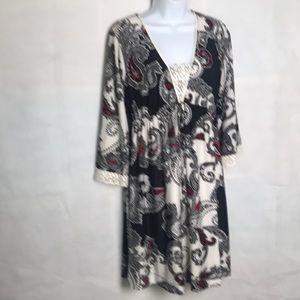 Soma intimates loungewear nightie Dress Paisley